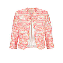 Buy COLLECTION by John Lewis Ruth Tweed Jacket, Pink Online at johnlewis.com