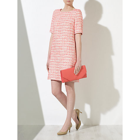 Buy COLLECTION by John Lewis Gabrielle Tweed Dress, Pink Online at johnlewis.com