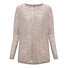 Buy Kin by John Lewis Linen Blended Jumper, Ash Online at johnlewis.com