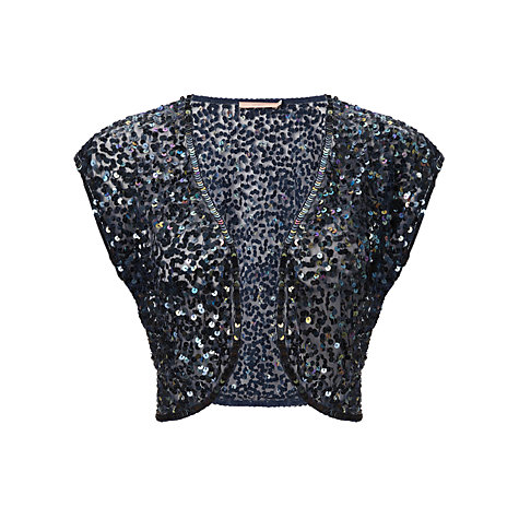 Buy John Lewis Sophia Sequined Shrug Online at johnlewis.com