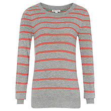 Buy Reiss Honey Stripe Jumper Online at johnlewis.com