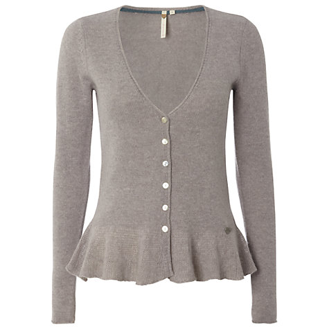 Buy White Stuff Ada Cardigan, Light Lavender Online at johnlewis.com