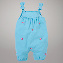 Buy John Lewis Baby Ladybird Bibshorts, Blue Online at johnlewis.com