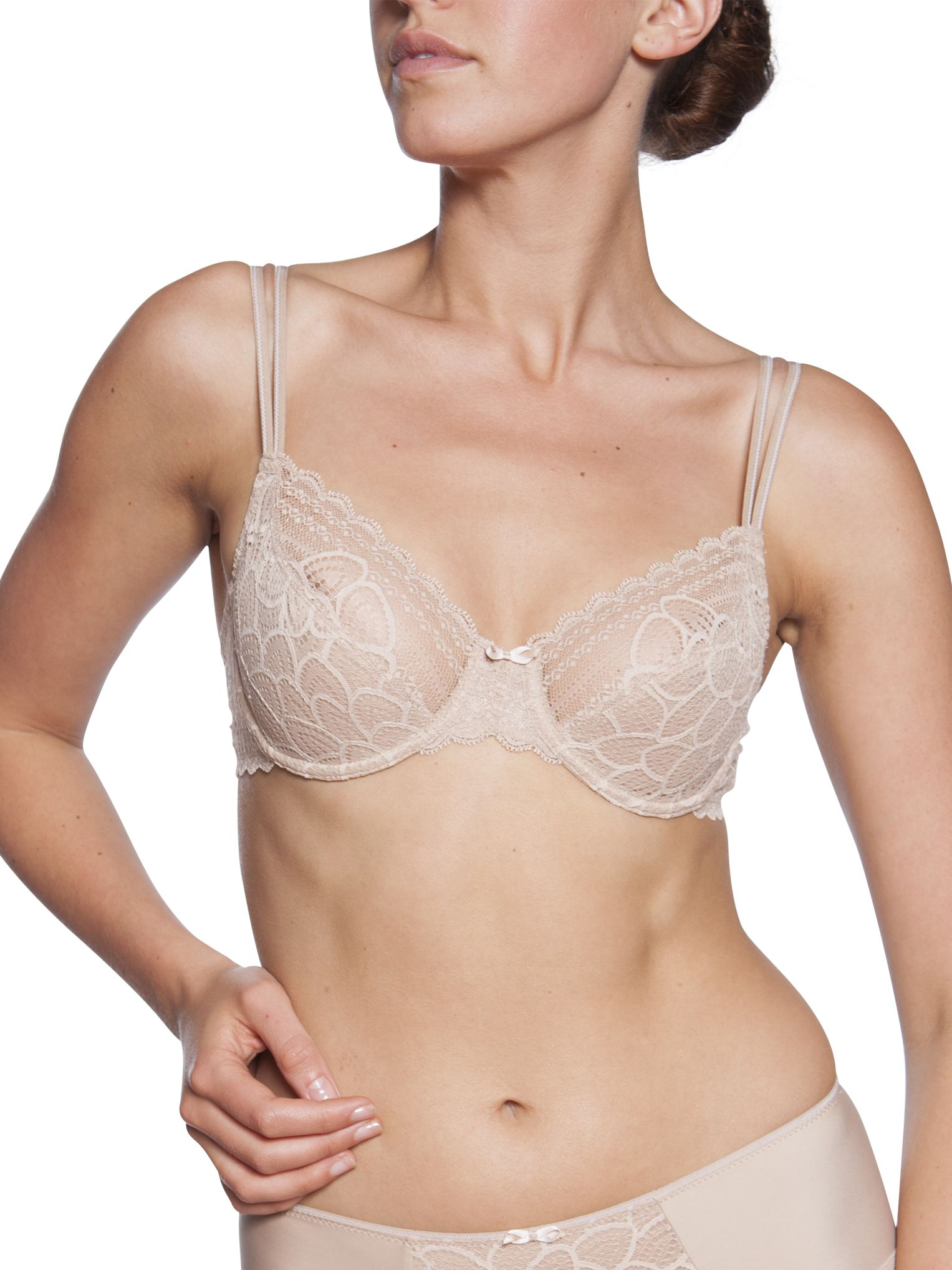 Chantelle Merci Underwired Bra, Nude