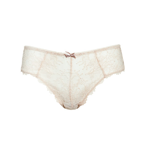 Buy COLLECTION by John Lewis Genevieve Briefs, Cream Online at johnlewis.com