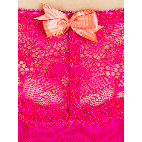 Buy John Lewis Genevieve Thong, Fuchsia Online at johnlewis.com
