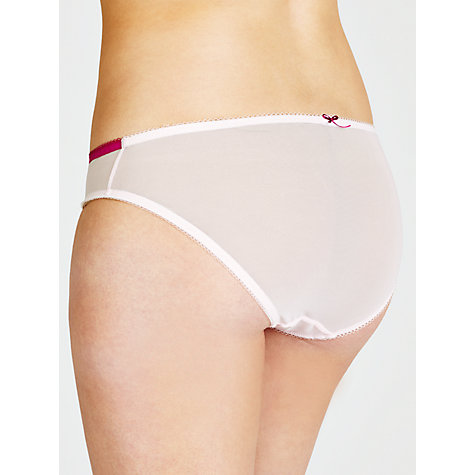 Buy John Lewis Charlotte Briefs, Dusky Pink Online at johnlewis.com