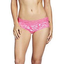 Buy Bonds Lacie Cheekstar Briefs, Pink / White Online at johnlewis.com