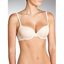 Buy John Lewis Gardenia Padded T-Shirt Bra Online at johnlewis.com