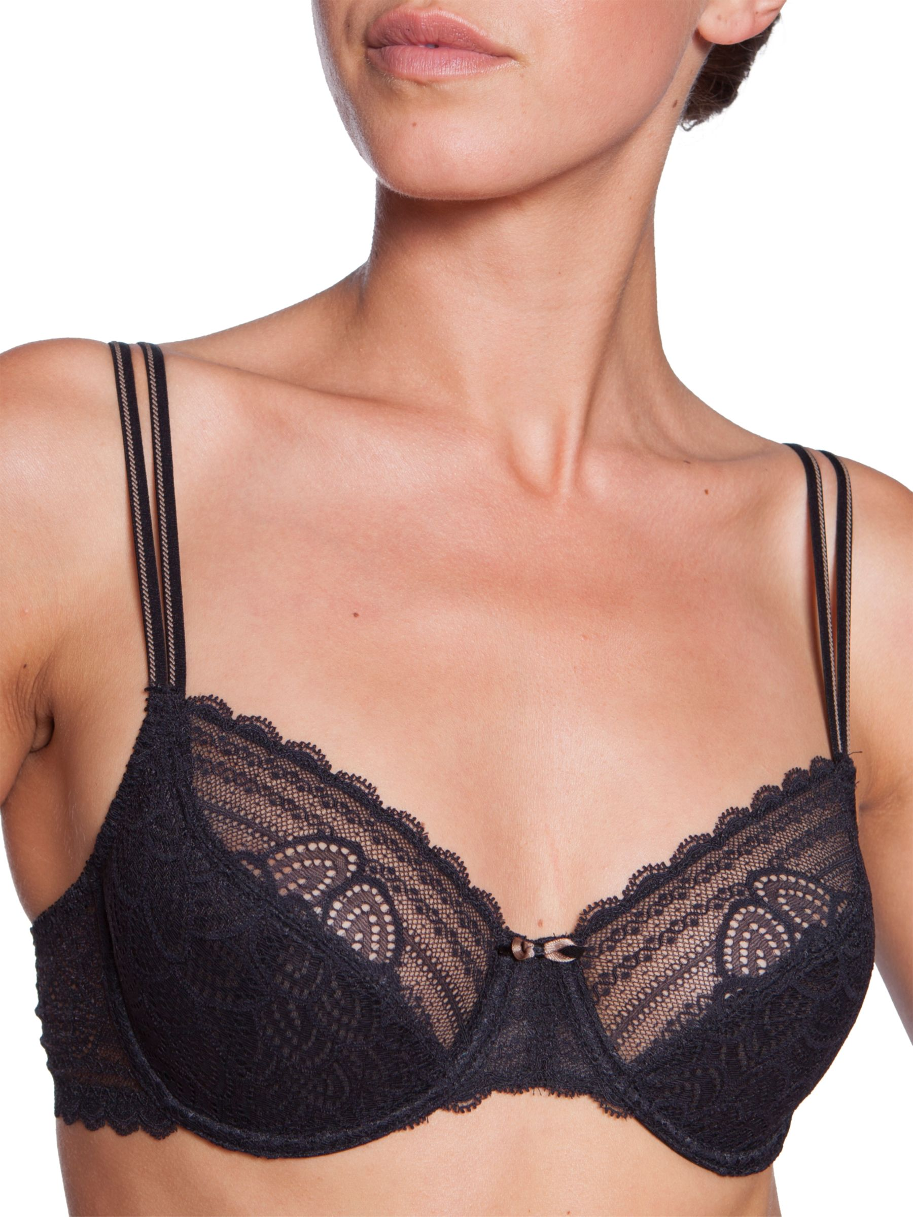 Chantelle Merci Underwired Bra, Black