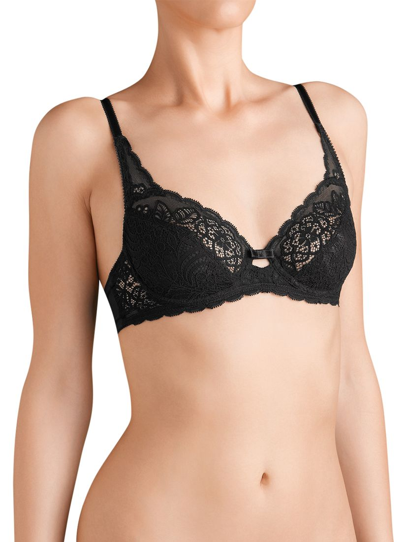 Triumph Amourette Spotlight Underwired Full Cup Bra, Black
