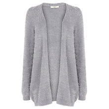 Buy Oasis Fluffy Cardigan, Grey Online at johnlewis.com