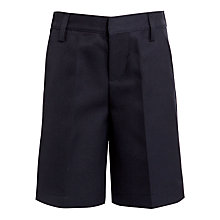 Buy John Lewis Boys' School Bermuda Shorts, Navy Online at johnlewis.com