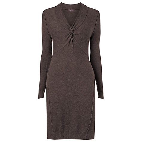 Buy Phase Eight Primrose Plait Tunic Dress, Mink Online at johnlewis.com