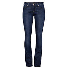 Buy A Gold E Juliette Regular Rise Slim Bootcut Jeans, Nice Online at johnlewis.com