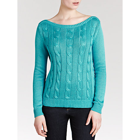 Buy Lauren by Ralph Lauren Cable Knit Jumper Online at johnlewis.com