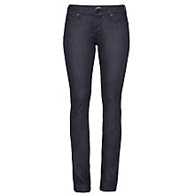 Buy A Gold E Elodie Regular Rise Straight Jeans, Paris Online at johnlewis.com