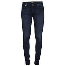 Buy A Gold E Collette Regular Rise Skinny Jeans, New York Online at johnlewis.com