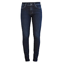 Buy A Gold E Sophie High Rise Skinny Jeans, Midnight Online at johnlewis.com