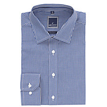 Buy Daniel Hechter Gingham Shirt, Navy Online at johnlewis.com