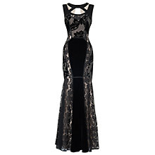 Buy Phase Eight Collection 8 Dulciana Full Length Dress, Black Online at johnlewis.com