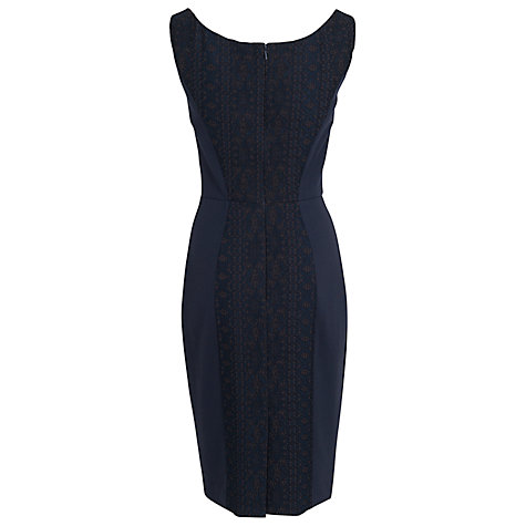Buy French Connection Natalia Lace Dress, Black/Utility Black Online at johnlewis.com