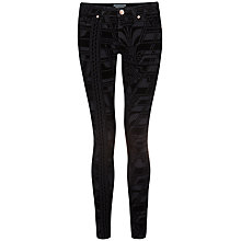 Buy Ted Baker Dehme Skinny Jeans, Black Online at johnlewis.com