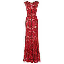 Buy Phase Eight Collection 8 Paige Tapework Dress, Ruby Online at johnlewis.com