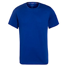 Buy Calvin Klein Logo Short Sleeve T-Shirt, Blue Online at johnlewis.com