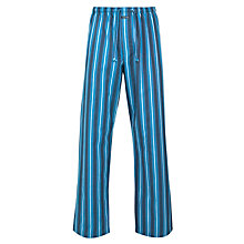 Buy Calvin Klein Lang Striped Pyjama Pants, Blue Online at johnlewis.com