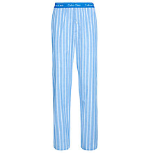Buy Calvin Klein Stripe Pyjama Pants, Optical Blue Online at johnlewis.com