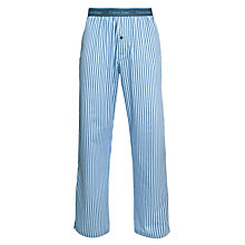 Buy Calvin Klein Woven Arrow Pyjama Pants, Blue Online at johnlewis.com