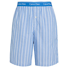 Buy Calvin Klein Striped Pyjama Shorts, Blue Online at johnlewis.com