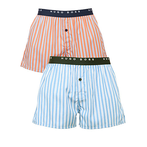 Buy Hugo Boss Stripe Boxers, Pack of 2 Online at johnlewis.com