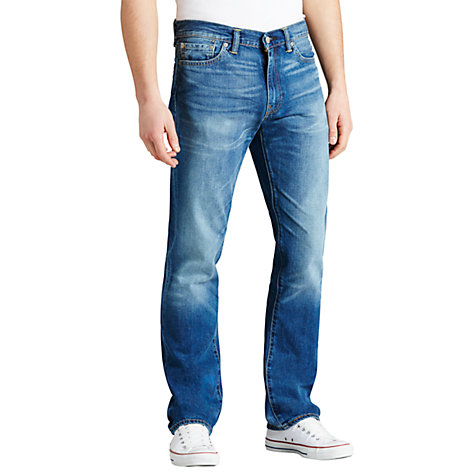 Buy Levi's 504 Fairfax Straight Jeans, Fairfax Blue Online at johnlewis.com