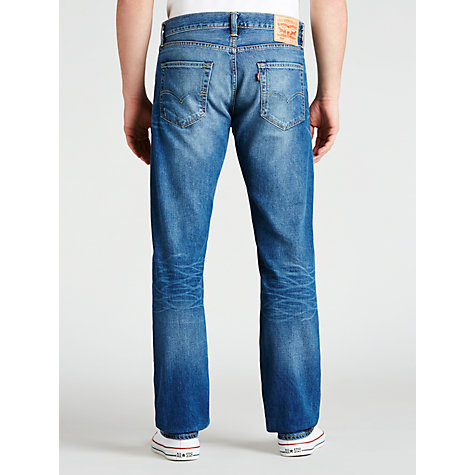 Buy Levi's 504 Regular Straight Jeans, Fairfax Blue Online at johnlewis.com