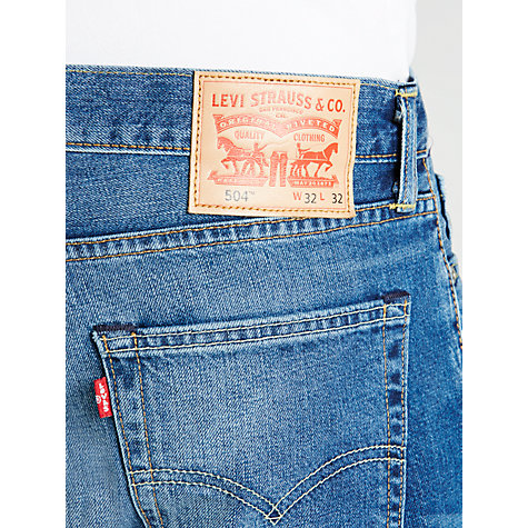 Buy Levi's 504 Regular Straight Jeans, Fairfax Online at johnlewis.com
