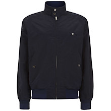 Buy Hackett London Harry Leightweight Jacket, Navy Online at johnlewis.com
