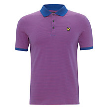 Buy Lyle & Scott Fine Stripe Polo Shirt Online at johnlewis.com