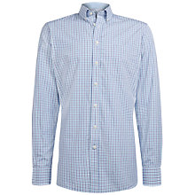 Buy Hackett London Brompton Two-Tone Shirt Online at johnlewis.com
