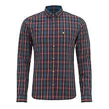 Buy Lyle & Scott Cotton Scotts Tartan Check Shirt, Old Navy/Multi Online at johnlewis.com