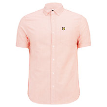Buy Lyle & Scott Cotton Short Sleeve Oxford Shirt Online at johnlewis.com