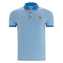 Buy Lyle & Scott Fine-Stripe Polo Top Online at johnlewis.com