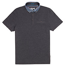 Buy Ted Baker Stokenn Check Collar Polo Shirt Online at johnlewis.com