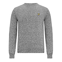 Buy Lyle & Scott Mouline Knit Cotton Jumper Online at johnlewis.com