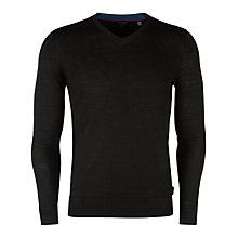 Buy Ted Baker Bagbo V-Neck Merino Wool Jumper Online at johnlewis.com
