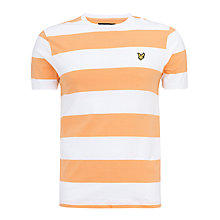 Buy Lyle & Scott Bold Stripe T-Shirt Online at johnlewis.com