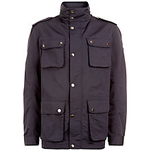 Buy Hackett London Lightweight Velo Jacket, Navy Online at johnlewis.com
