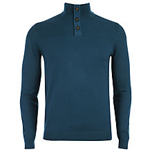 Buy Ted Baker Naplin Button Neck Jumper Online at johnlewis.com