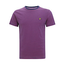 Buy Lyle & Scott Crew Neck T-Shirt, Shallow End Online at johnlewis.com